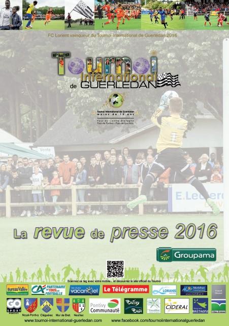REVUE PRESSE 2016