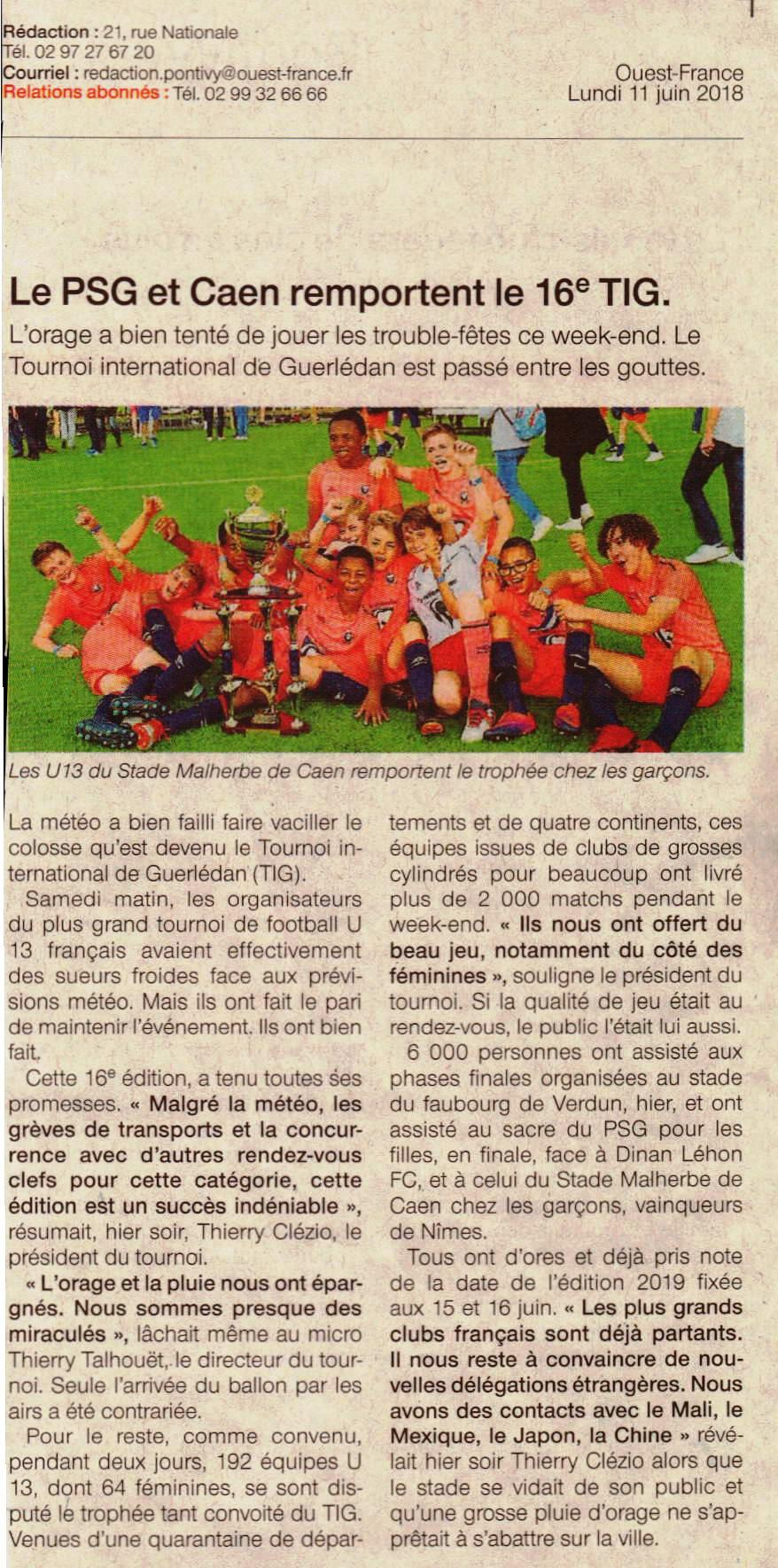 presse2018-Ouest france2018