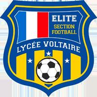 Blason section foot elite lycee Voltaire - Egypte