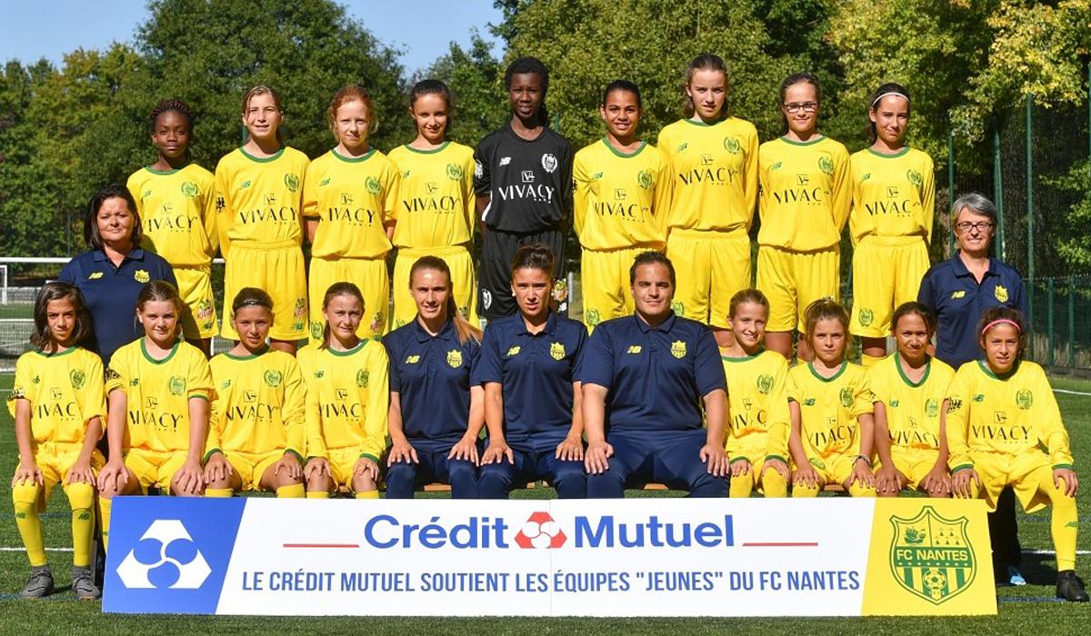 Equipe féminine FC Nantes