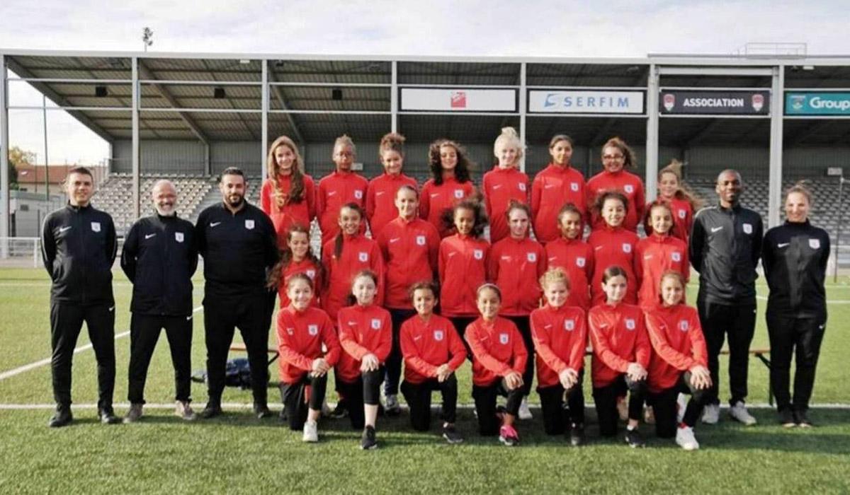 L'équipe féminine du FC Lyon