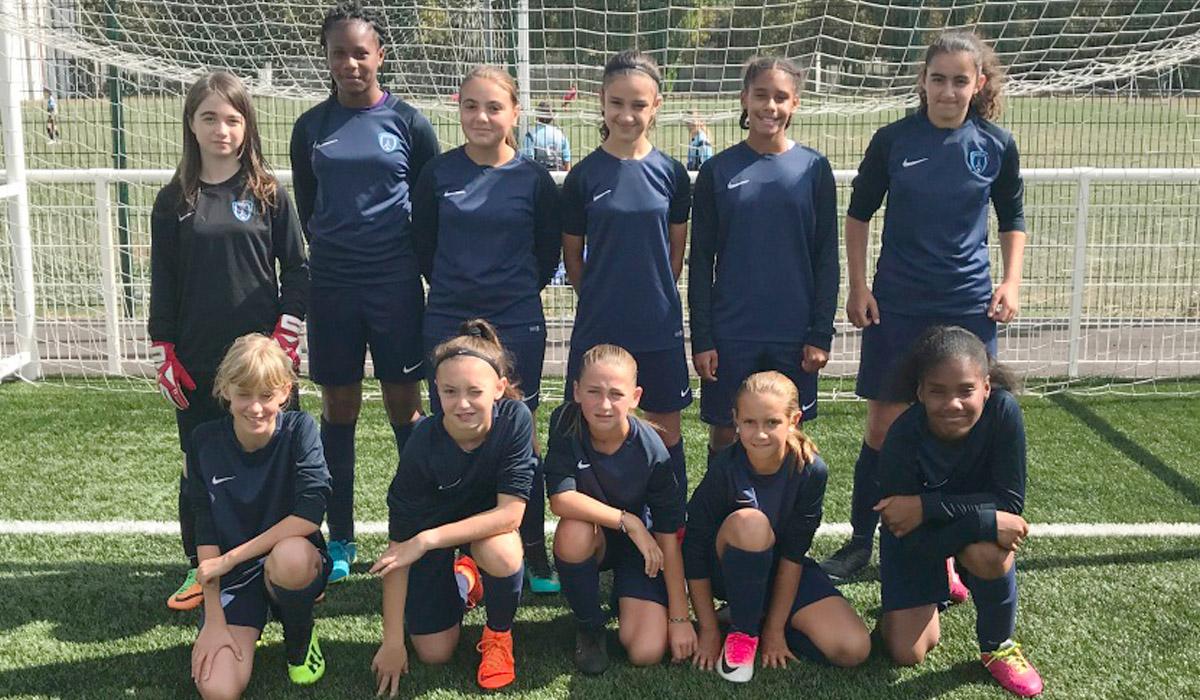 L'équipe Paris FC Filles