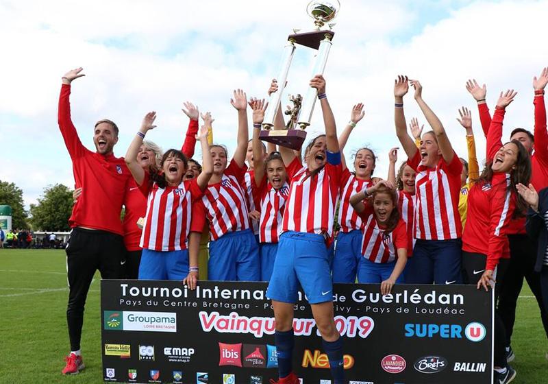 Vainqueur TIG 2019 Filles : Atletico Madrid