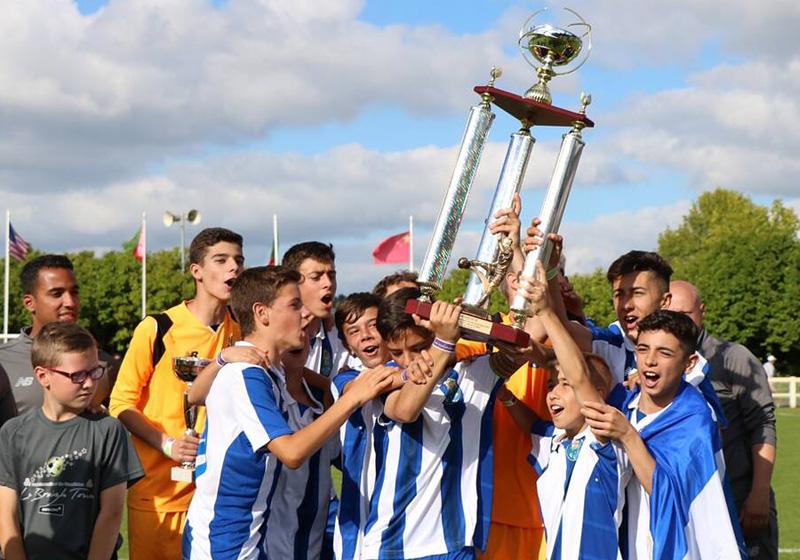 Vainqueur TIG 2019 Garçons : FC Porto