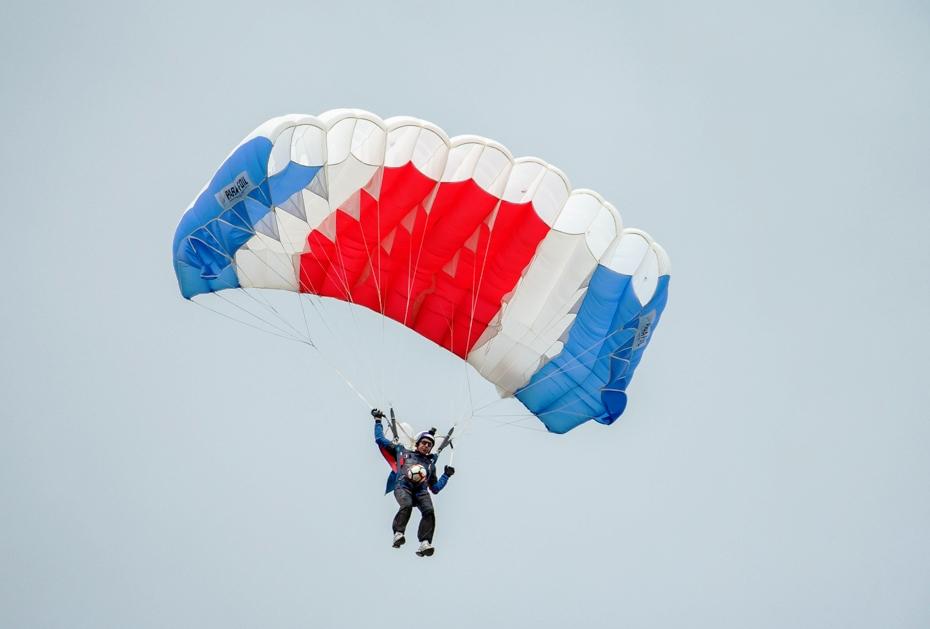 Parachutiste Ballon de la finale
