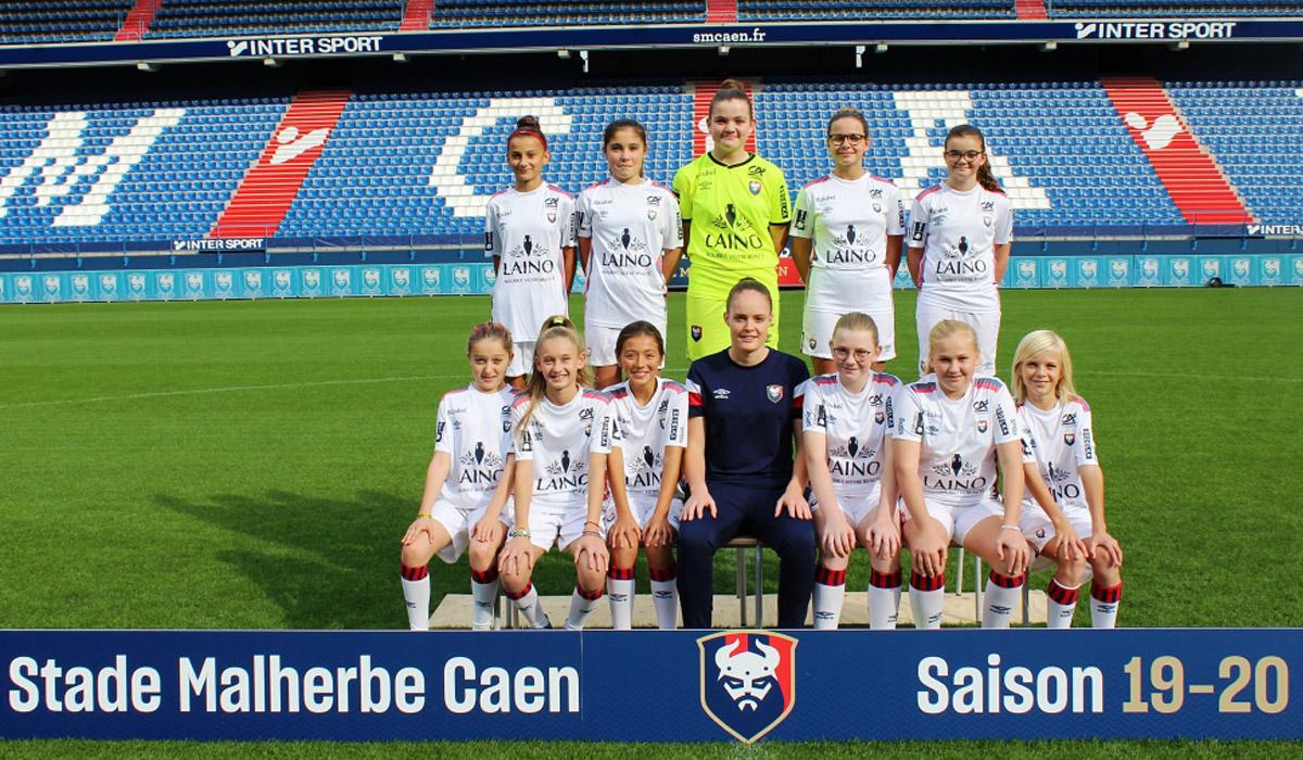 Equipe filles STADE MALHERBE CAEN