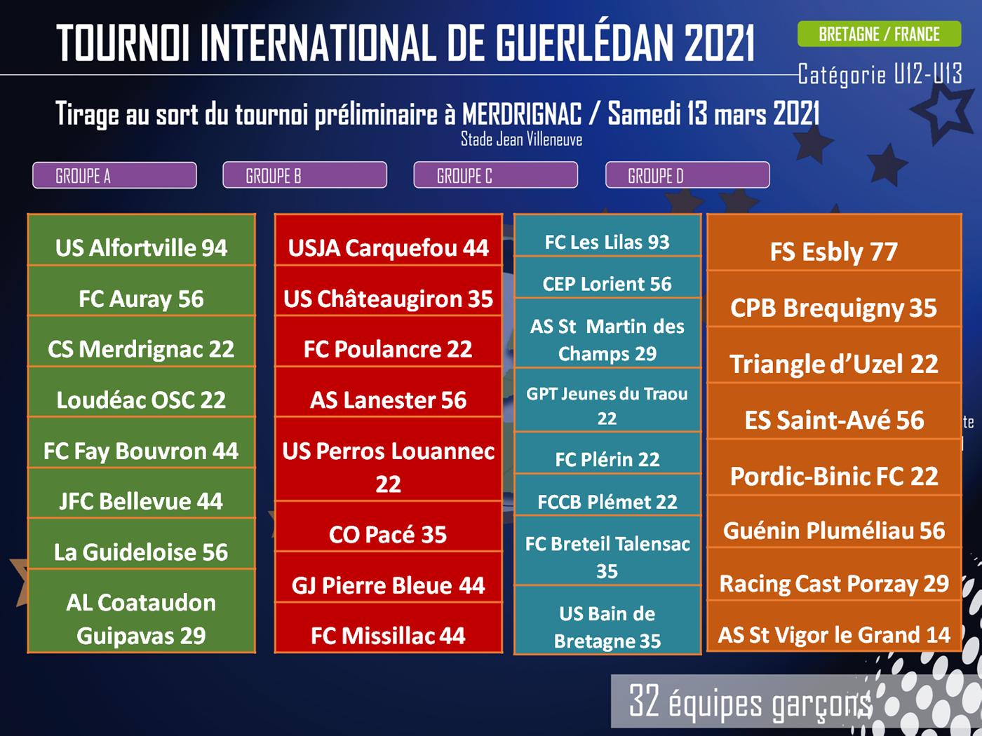 Tirage Merdrignac 2021
