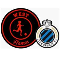 WEST FLAMES CLUB DE BRUGGE BELGIQUE